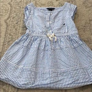 2T Nautica Searsucker Dress